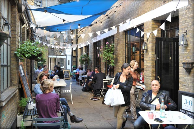 The Clerkenwell Estate - The J & A Cafe